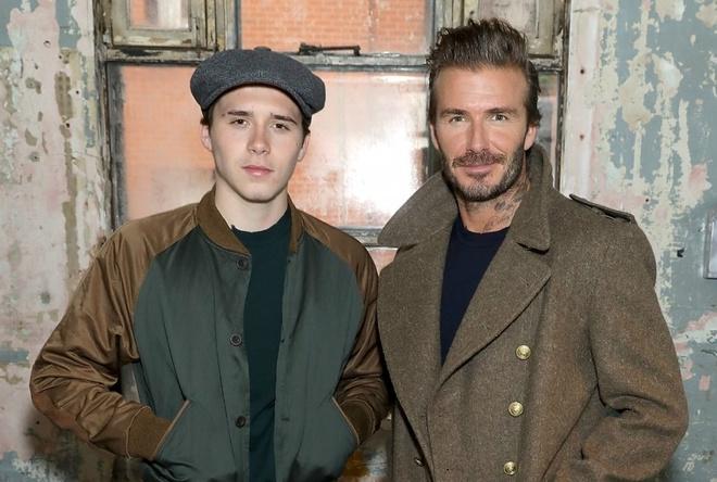 Gu thoi trang 'ong chu' cua con trai David Beckham hinh anh
