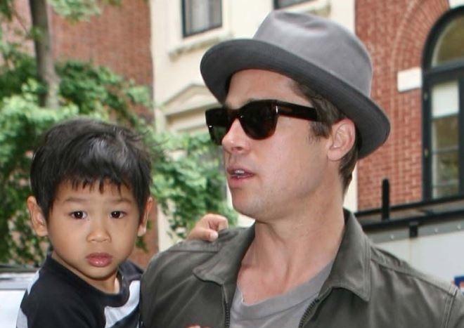 Brad Pitt tung khong muon nhan nuoi con trai goc Viet Pax Thien? hinh anh