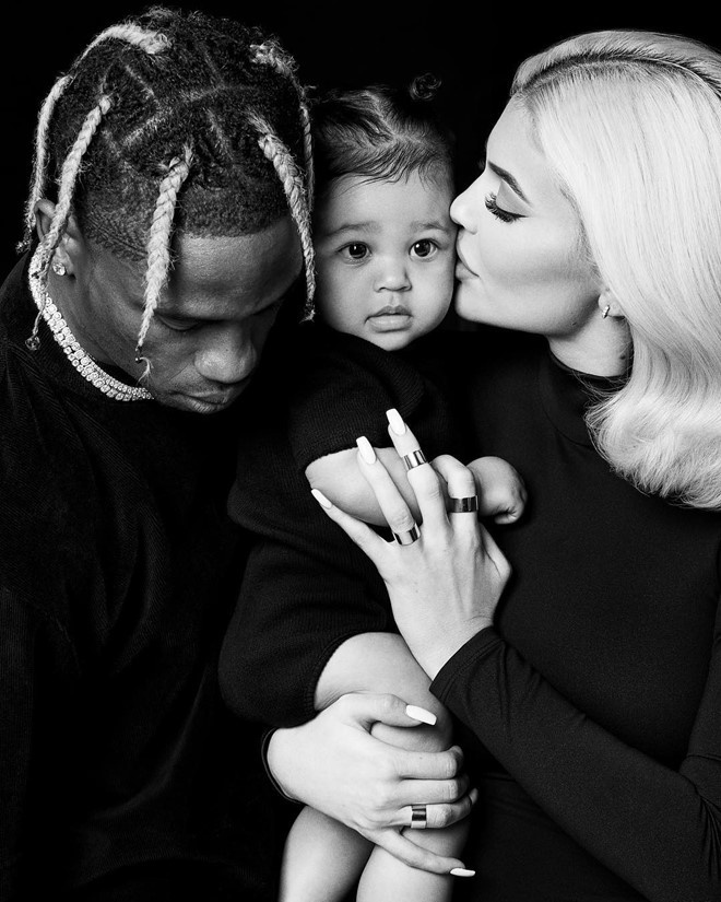 Ban trai rapper len ke hoach cuoi Kylie Jenner hinh anh 2