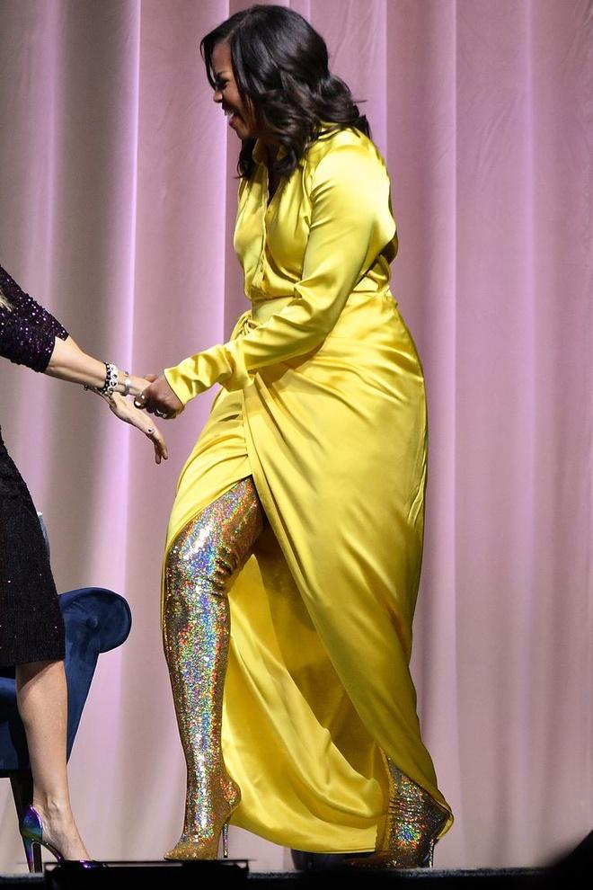 Ba Michelle Obama mac dam ruc ro, noi bat nhat tuan hinh anh 1
