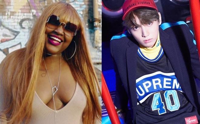 Fan BTS gieu cot hanh dong tu tu cua nu rapper nguoi My hinh anh