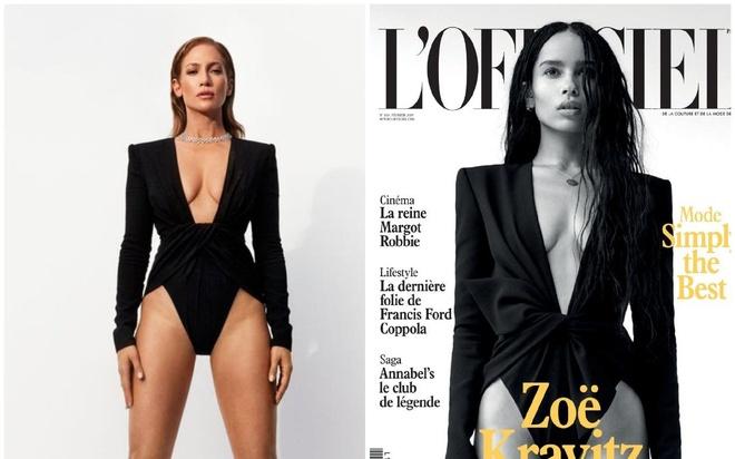 Jennifer Lopez dung hang ngoi sao 'Fantastic Beasts': Ai mac dep hon? hinh anh