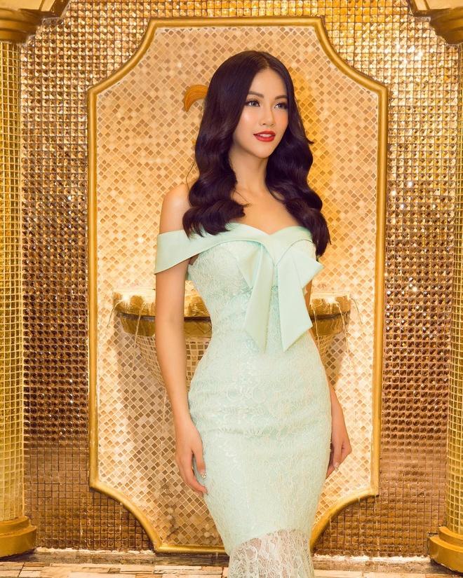 Hoa hau Phuong Khanh mac dep anh 1