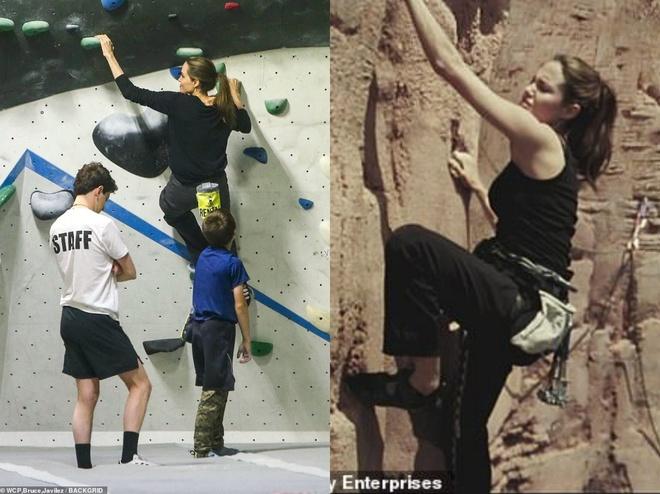 Angelina Jolie dua cac con di choi giua tin Brad Pitt co tinh moi hinh anh 2