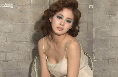 Kim Tae Hee bi che giong nhu ru ngu khi tro tai ca hat hinh anh
