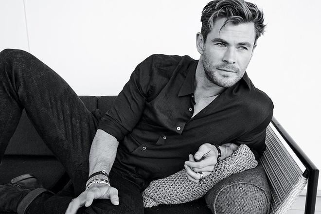 'Than sam' Chris Hemsworth phong tran tren bia tap chi hinh anh 3