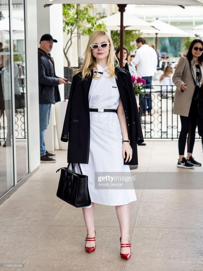 street style cua Elle Fanning anh 3