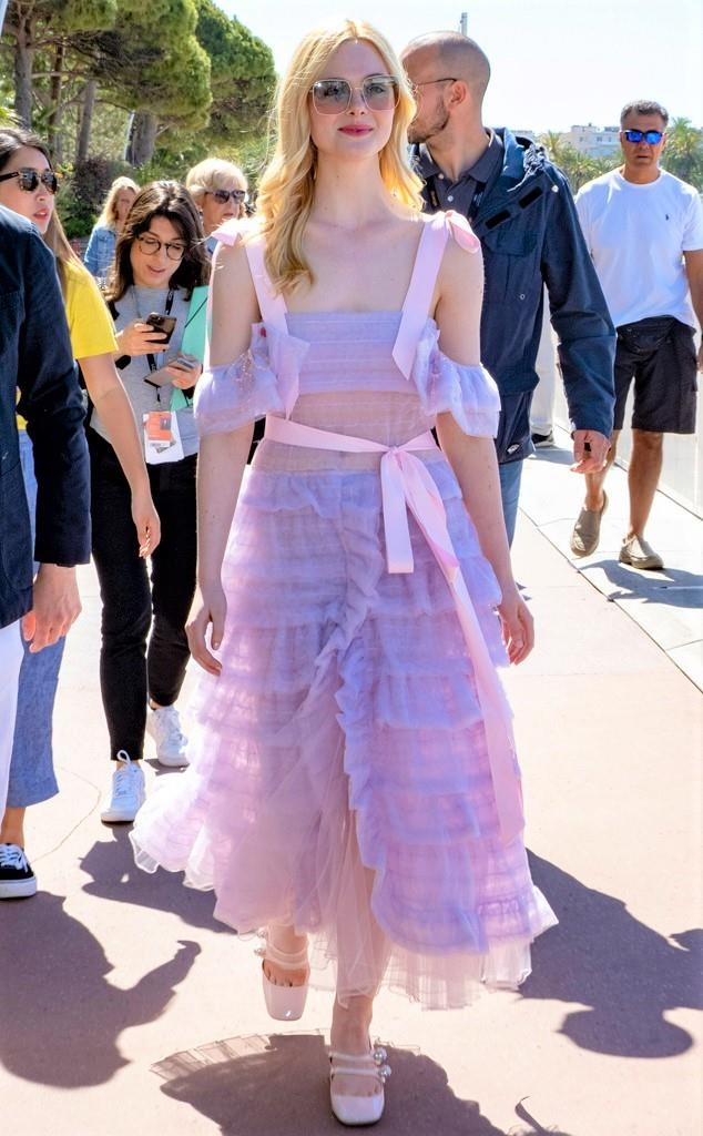 street style cua Elle Fanning anh 7