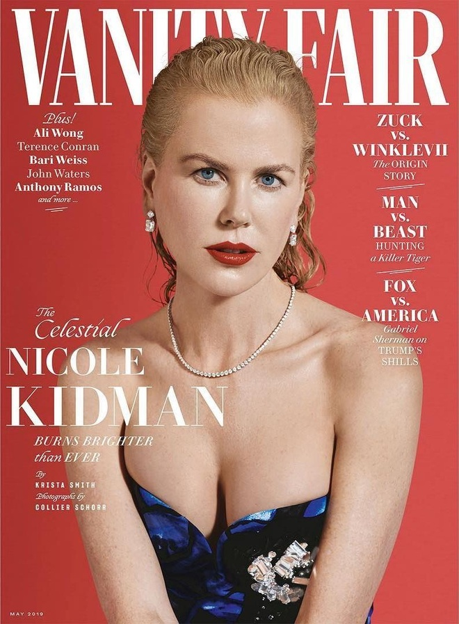 Nicole Kidman phanh ao khoe nguc o tuoi 52 hinh anh 9