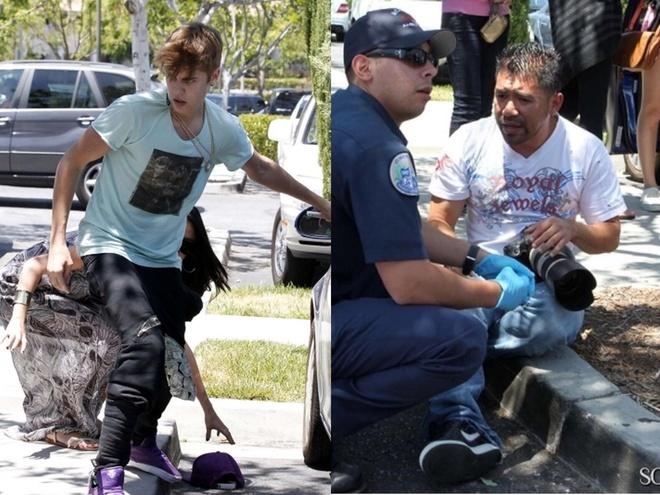 Justin Bieber danh phong vien anh 7