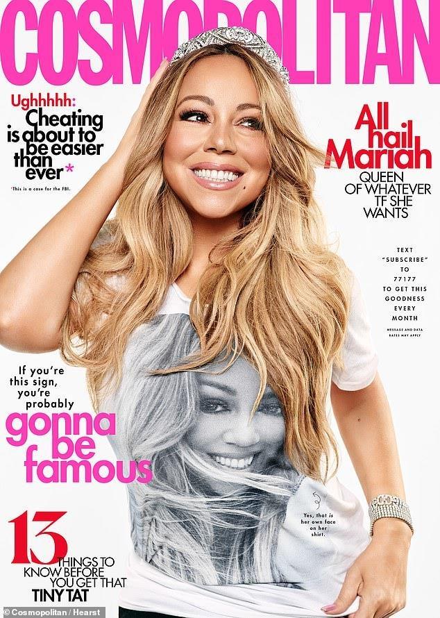 Mariah Carey vui ve ben tinh tre sau scandal 'cam sung' bo ty phu hinh anh 2
