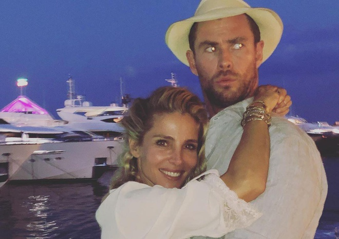 Chris Hemsworth om ap vo hon 7 tuoi trong chuyen du lich chau Au hinh anh 6