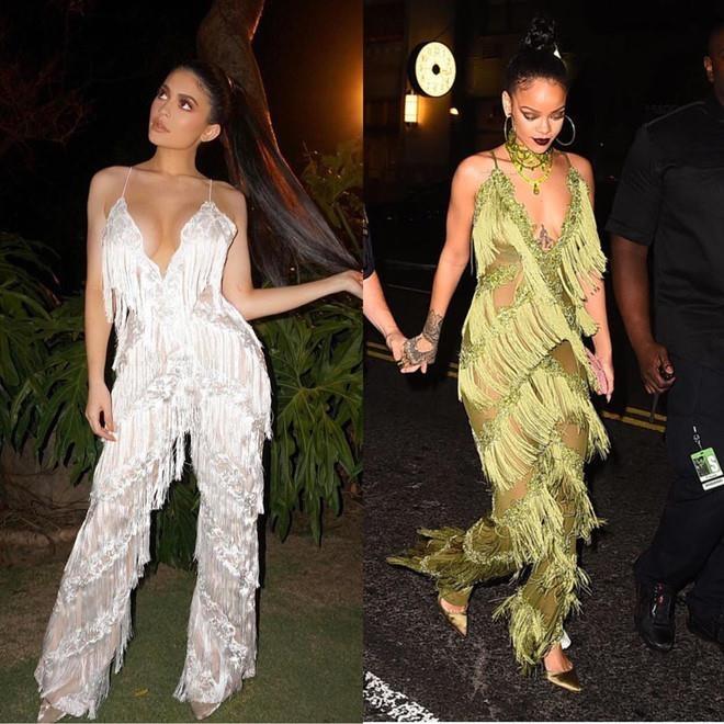 'Ban than' Ky Duyen va loat my nhan hoc hoi phong cach cua Rihanna hinh anh 2