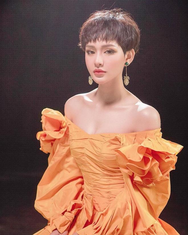 Bao Anh cat toc tem ca tinh sau on ao yeu lai Ho Quang Hieu hinh anh 5