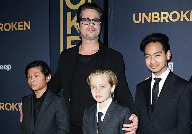Brad Pitt chia tay Angelina Jolie anh 3