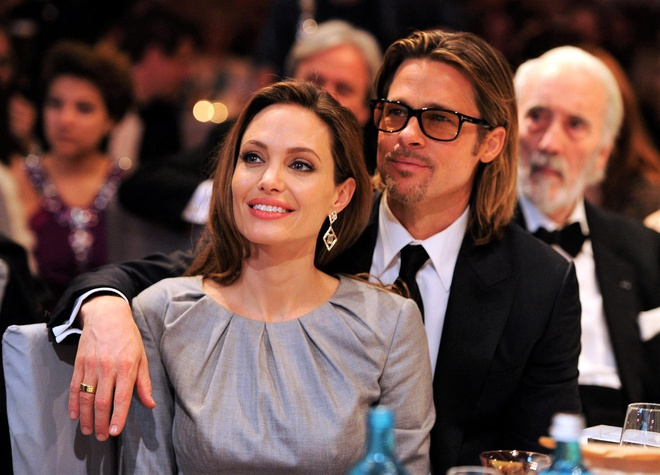 Brad Pitt chia tay Angelina Jolie anh 1