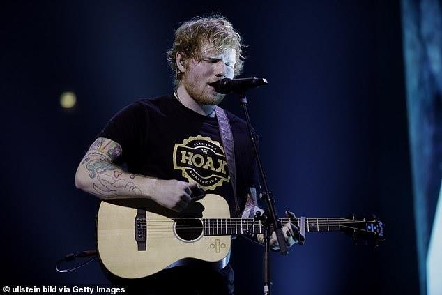 Ed Sheeran lap ky muc anh 1