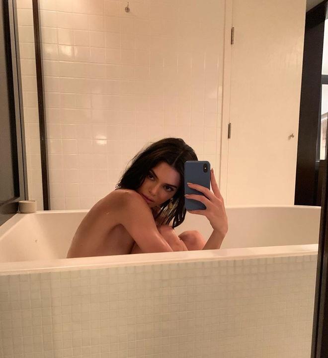 nguoi mau Kendall Jenner dao pho anh 7