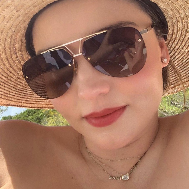 Miranda Kerr mang bau lan 3 anh 4