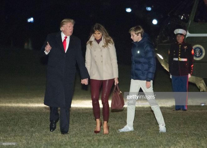 Barron Trump cao 2 m du moi 13 tuoi than toc den muc nao? hinh anh 6