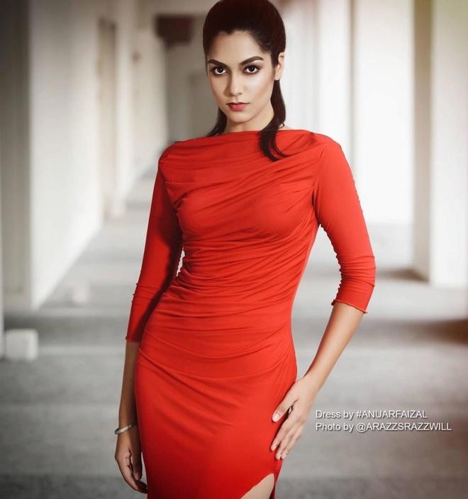Nhung doi thu khu vuc Dong Nam A cua Hoang Thuy tai Miss Universe 2019 hinh anh 7