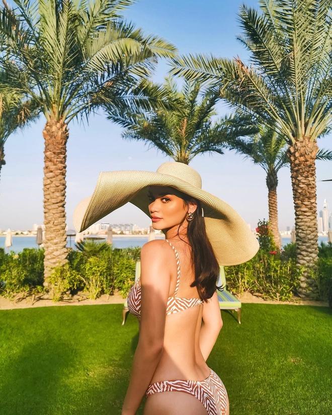 Pia Wurtzbach van nong bong sau 4 nam dang quang Miss Universe hinh anh 6