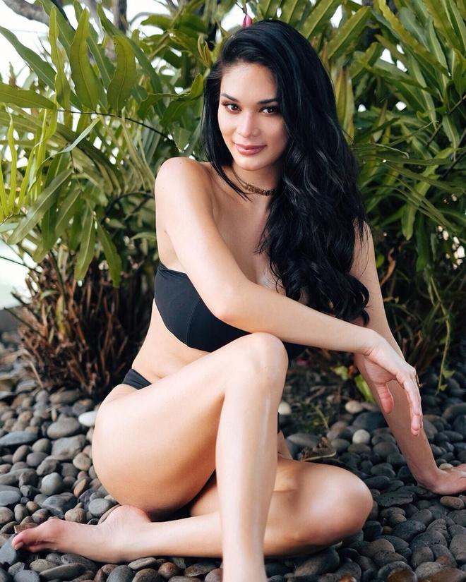 Pia Wurtzbach van nong bong sau 4 nam dang quang Miss Universe hinh anh 7