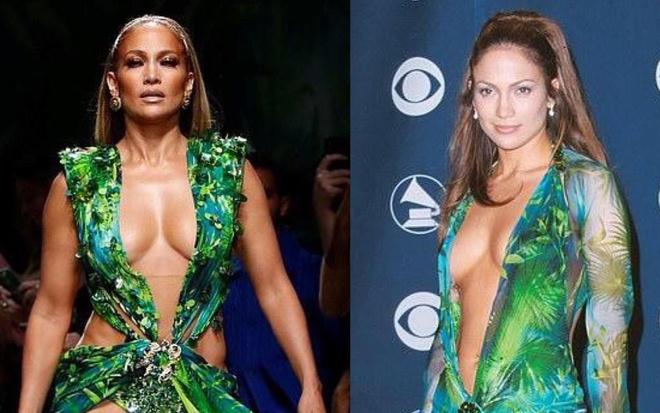 Jennifer Lopez mac vay lay cam hung tu thiet ke nam 2000 hinh anh