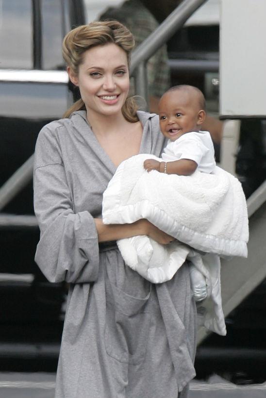 Zahara - con gai nuoi goc Phi it duoc Angelina Jolie nhac den hinh anh 1