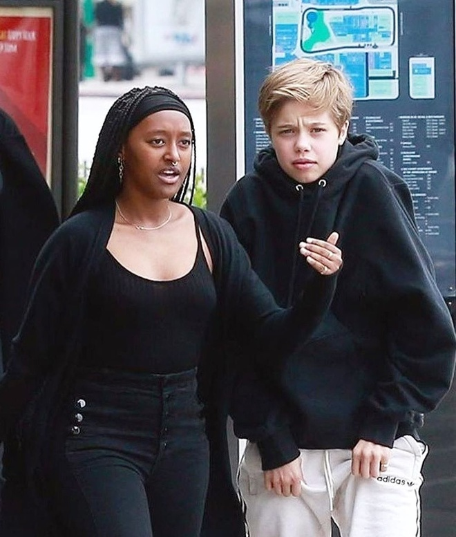 Zahara - con gai nuoi goc Phi it duoc Angelina Jolie nhac den hinh anh 8