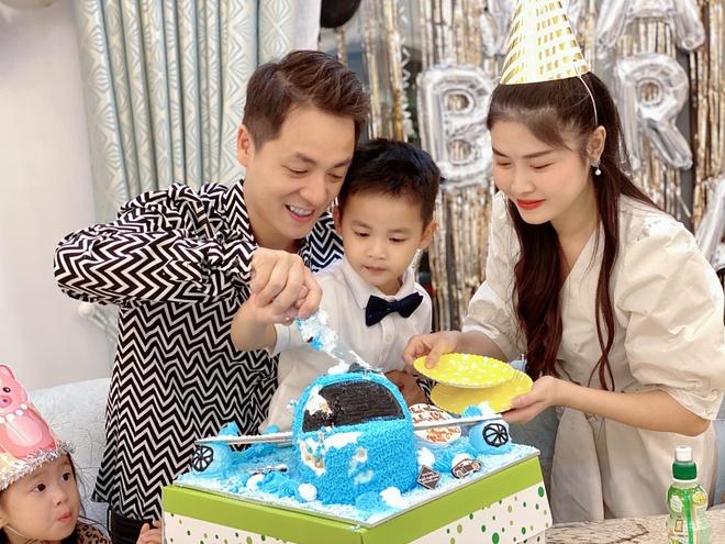 sinh nhat con trai Dang Khoi anh 2