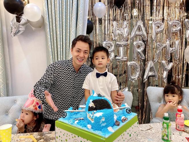 sinh nhat con trai Dang Khoi anh 3