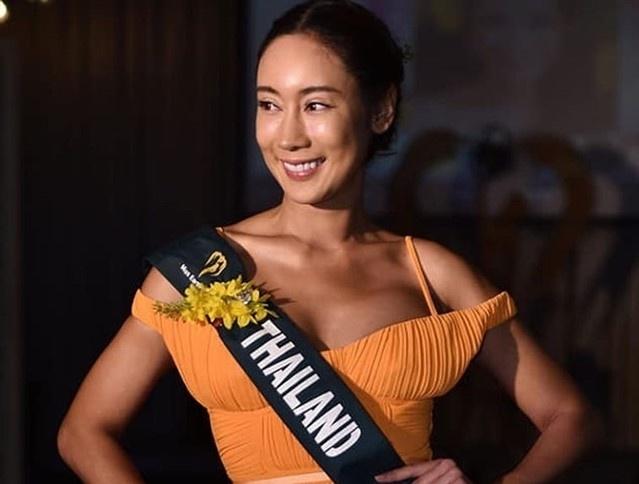Hoang Hanh va dan thi sinh Miss Earth kem sac khi de mat moc hinh anh 4