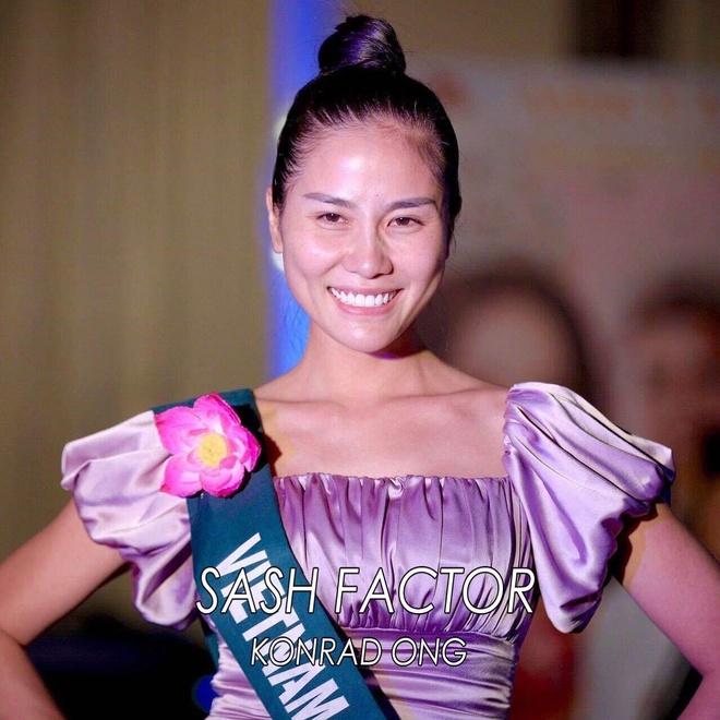 Hoang Hanh va dan thi sinh Miss Earth kem sac khi de mat moc hinh anh 1