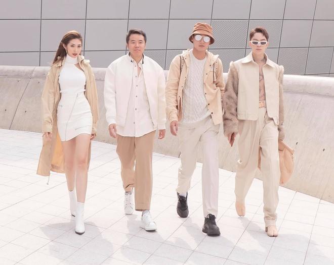 Khong Tu Quynh, Huynh Tien tha dang tai Seoul Fashion Week hinh anh 14