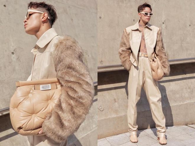 Khong Tu Quynh, Huynh Tien tha dang tai Seoul Fashion Week hinh anh 13