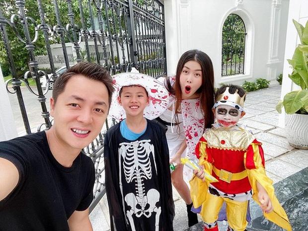 Ha Tang, vo Tuan Hung va dan sao Viet hoa trang Halloween hinh anh 3