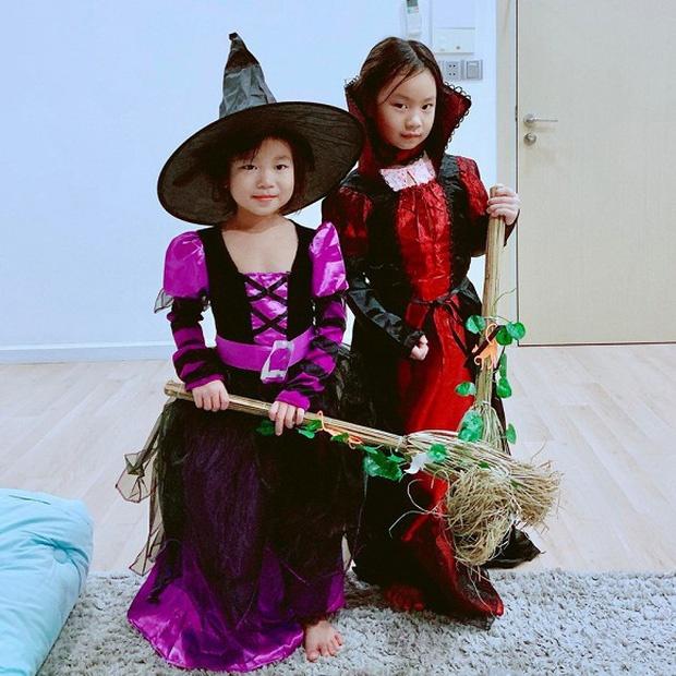 Ha Tang, vo Tuan Hung va dan sao Viet hoa trang Halloween hinh anh 7