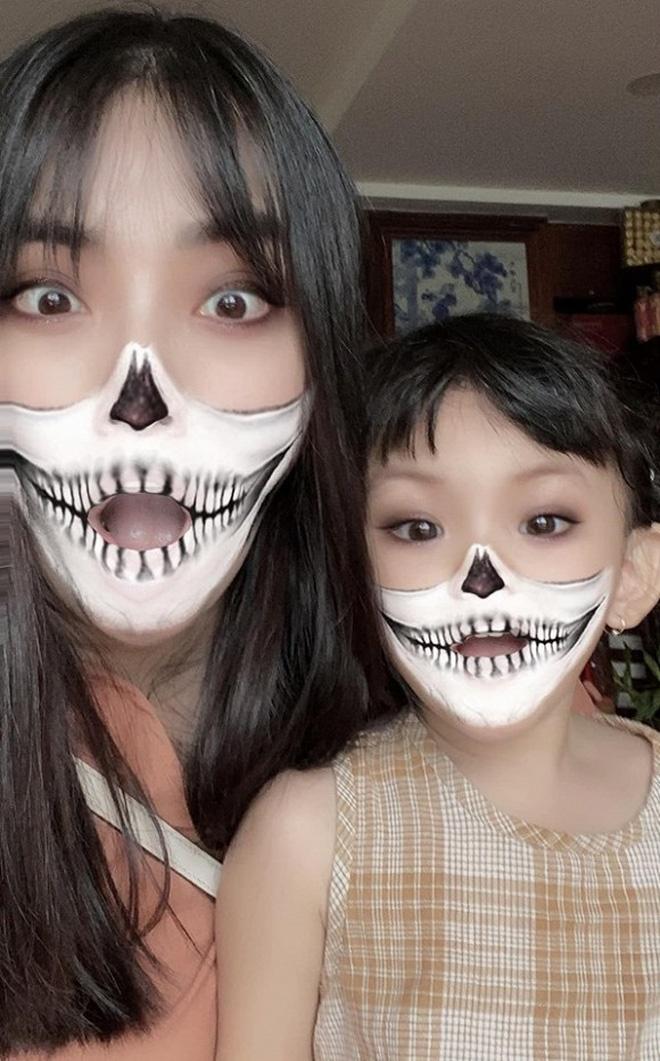 Ha Tang, vo Tuan Hung va dan sao Viet hoa trang Halloween hinh anh 10