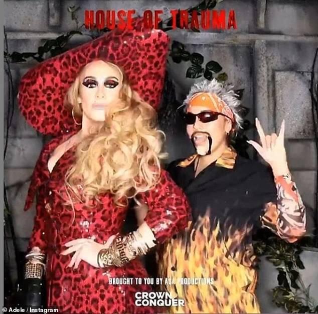 Con gai David Beckham hoa trang thanh Billie Eilish ngay Halloween hinh anh 17
