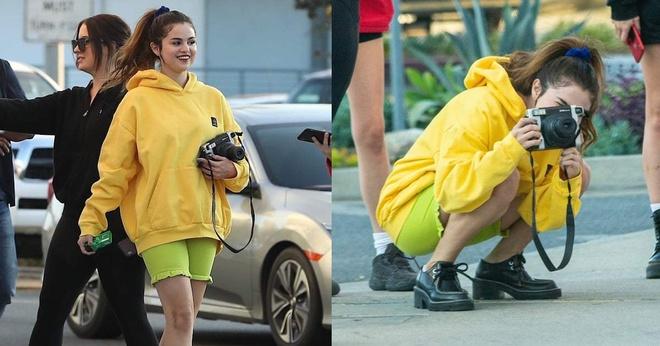 Selena Gomez hon em gai 6 tuoi tren tham do 'Frozen 2' hinh anh 8