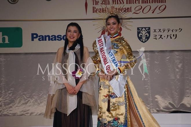 Thai Lan dang quang, Tuong San dung o top 8 Hoa hau Quoc te 2019 hinh anh 1