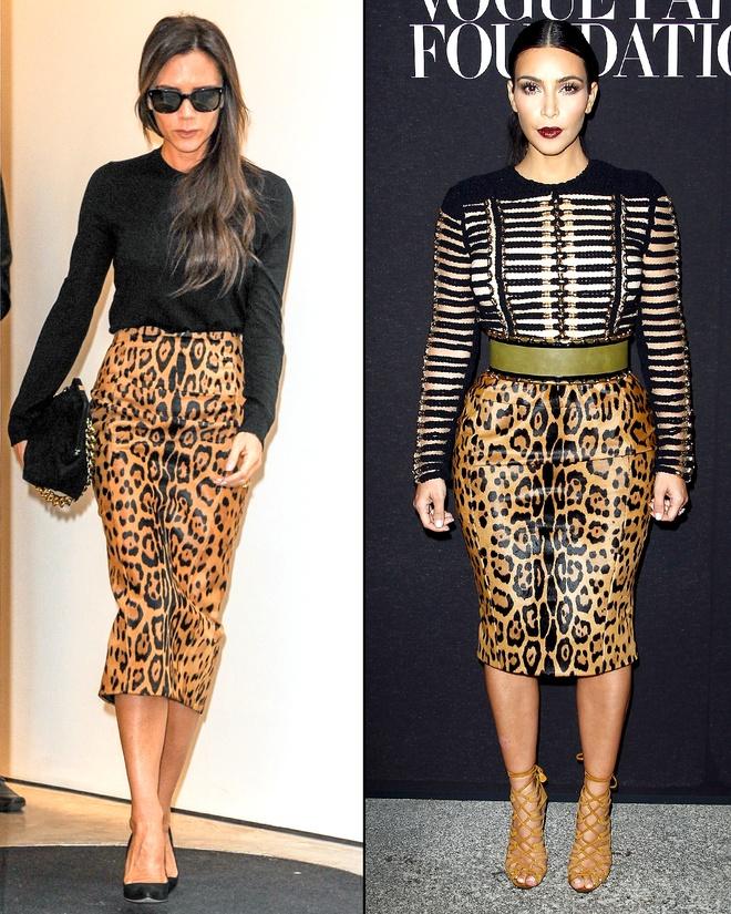 Kim Kardashian do sac voi Victoria Beckham hinh anh 3