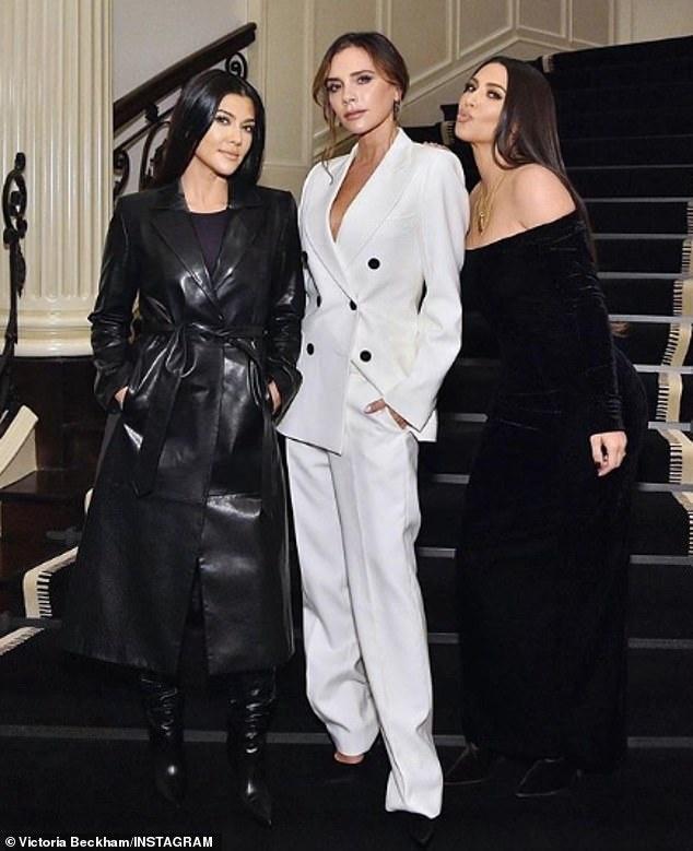 Kim Kardashian do sac voi Victoria Beckham hinh anh 1