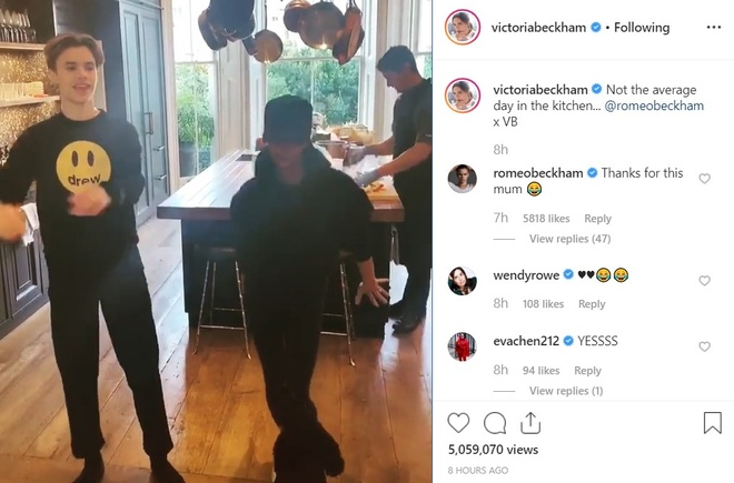 Me con Victoria Beckham nhun nhay theo hit cua Spice Girls hinh anh 1