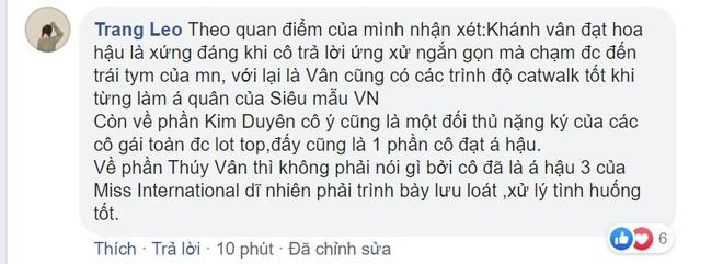 Khánh Vân gây tranh cãi khi là tân Hoa hậu Hoàn vũ Việt Nam