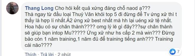 Khanh Van gay tranh cai khi la tan Hoa hau Hoan vu Viet Nam hinh anh 5