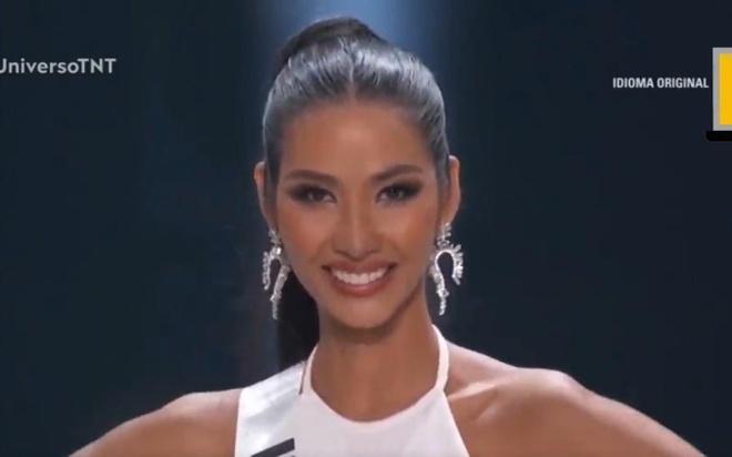 Hoang Thuy noi tieng Anh troi chay o chung ket Miss Universe hinh anh
