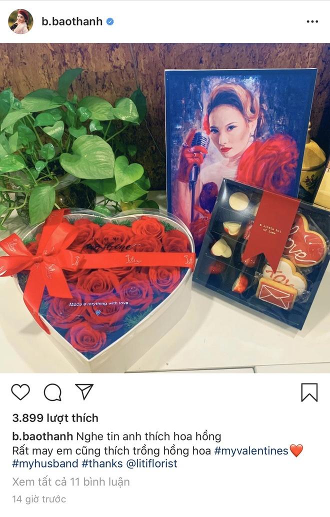 Sao Viet khoe hang hieu, hoa hong duoc tang ngay Valentine hinh anh 4 Bao_Thanh.jpg