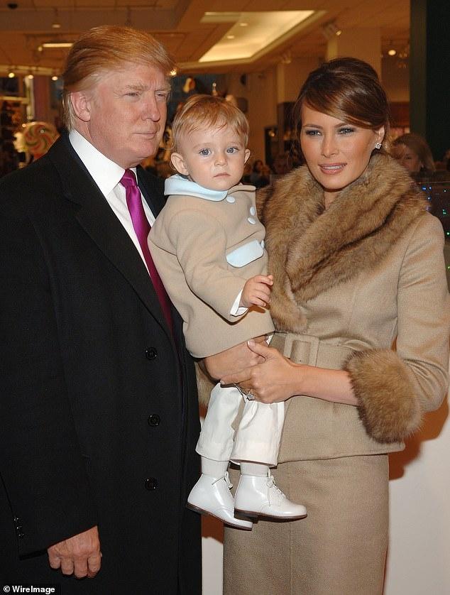 Barron Trump cao gan 2 m o tuoi 14 hinh anh 2 26215986_8135375_image_a_7_1584724762863.jpg